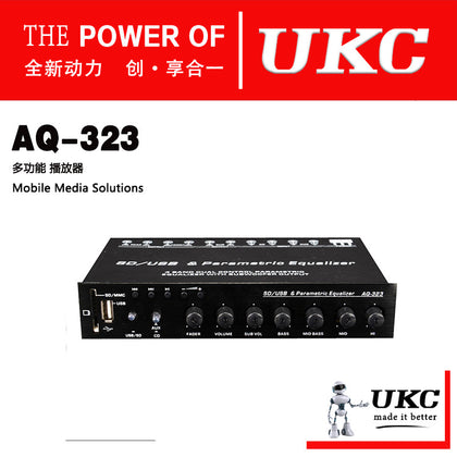 High-end car audio equalizer amplifier12V equalizer AQ323