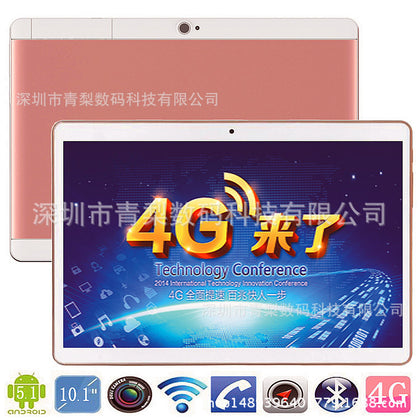 Android smart tablet 10.1 inch IPS HD computer tablet triple network 4g online call