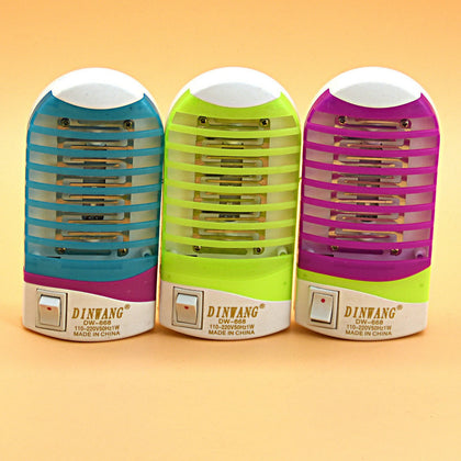 Factory direct mosquito killer Household mute Energy saving LED Solid color small fresh Mini insect killer