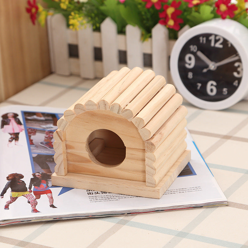 Amazon explosion models ebay hot hamster villa wooden house wish hamster supplies house cross-border hamster toys