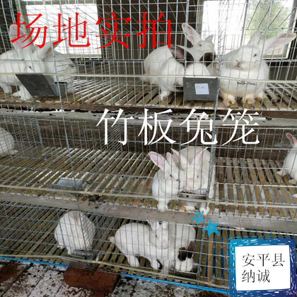 Rabbit cage manufacturers supply baby rabbit cages Galvanized rabbit cages 3 layers fattening rabbit cages Complete specifications and durable