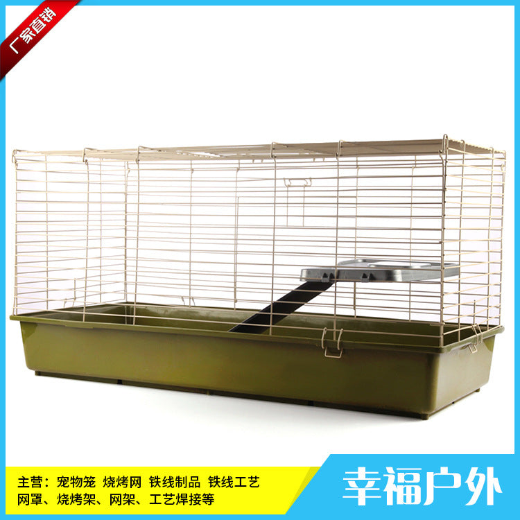Metal Hamster Cage Supporting Wheel Kettle Food Bowl Small Pet Nesting Factory Direct Processing Customization