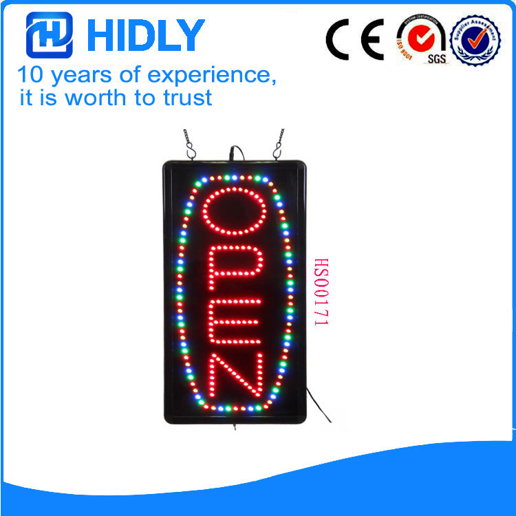 Advertising light box / hanging LED indoor luminous characters electronic advertising signs professional manufacturers to order