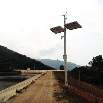 Mine, forest, reservoir, monitoring power supply system(Solar power)