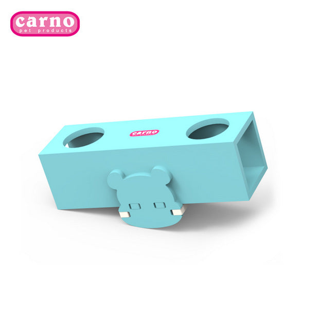 Hamster toy carno Kano supplies toy cockpit bucket can be hung aerial channel wooden hamster 跷跷 barrel