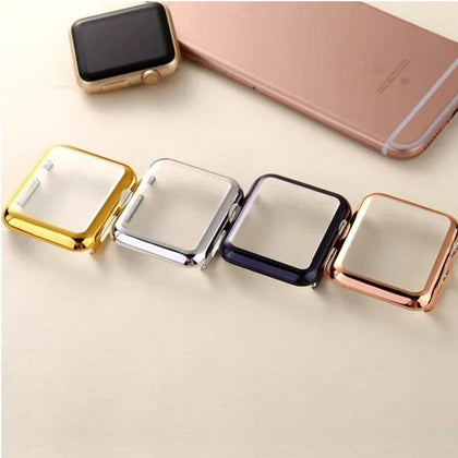 Suitable for Apple Watch case Apple Watch plating case iwatch 1/2 generation watch protection case