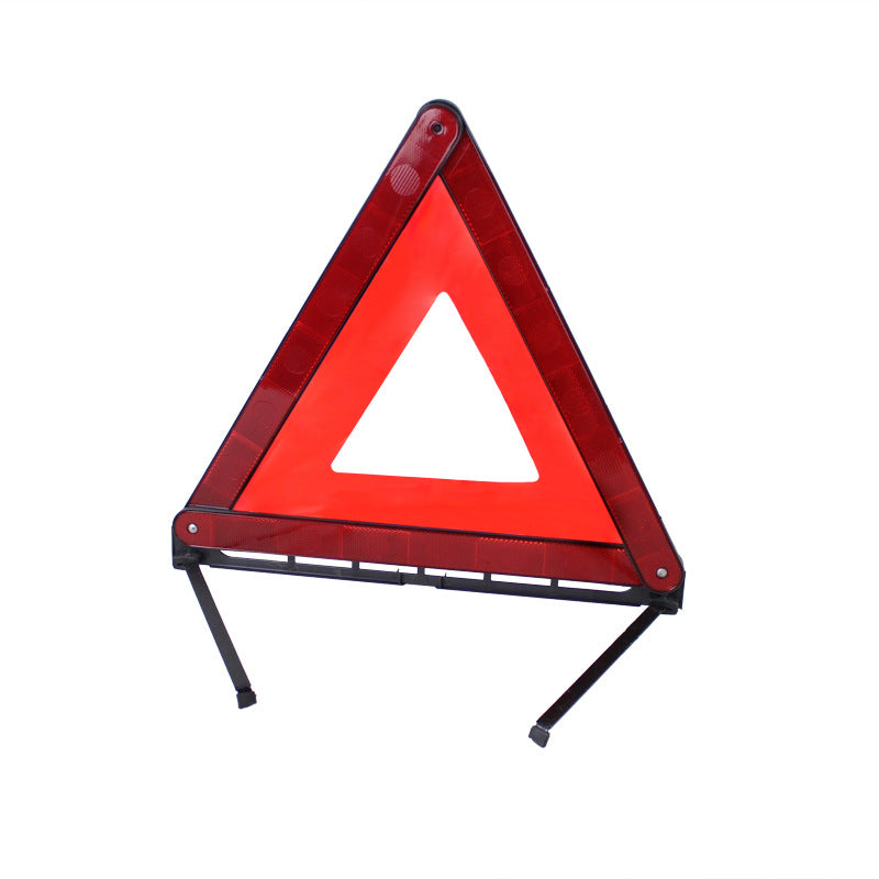 Car failure warning sign Folding reflective tripod Car triangle warning frame car warning signage