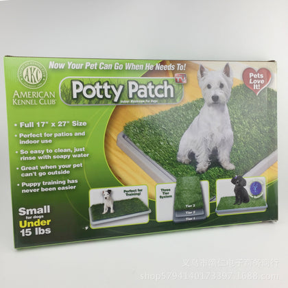 TV hot potty patch dog pad dog toilet lawn type pet toilet pet toilet