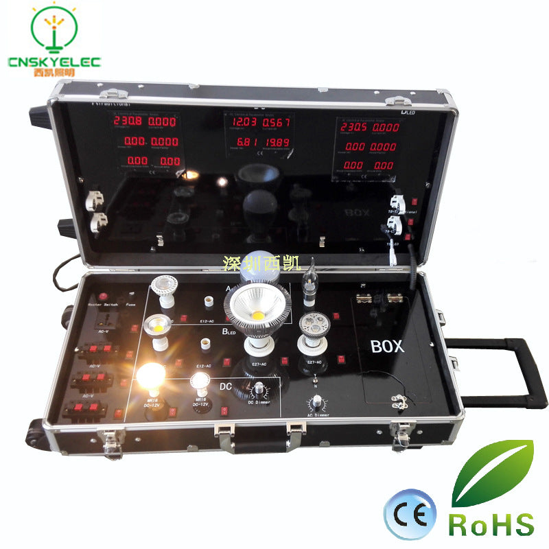 LED light box High voltage / low voltage conversion Practical LED light box professional custom-made power parameter display