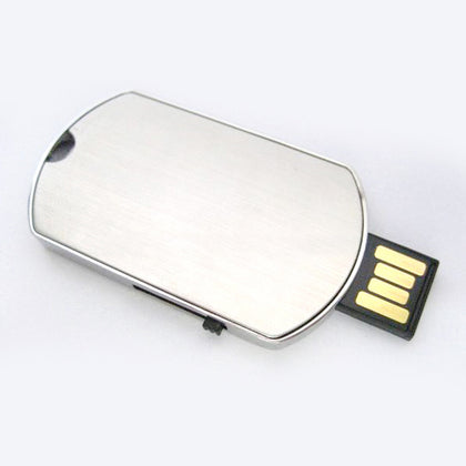Metal Tag U Disk Waterproof Shield U Disk Fashion Advertising Promotion USB Flash Drive Company Logo Customization