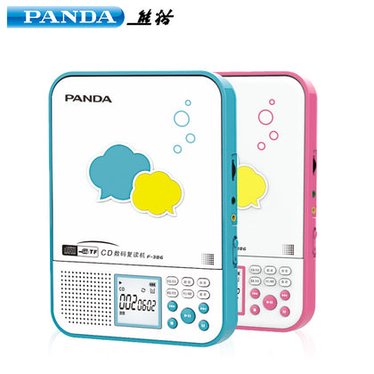 PANDA/Panda F-386 Repeater CD Player Card U disk MP3 Lithium English Portable Recorder