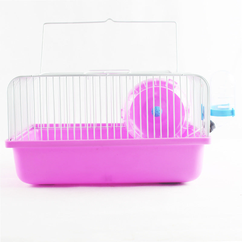 DoubleMouse Factory Outlet Hamster Cage Hamster Nursery Portable Cage Large Pastoral DM108