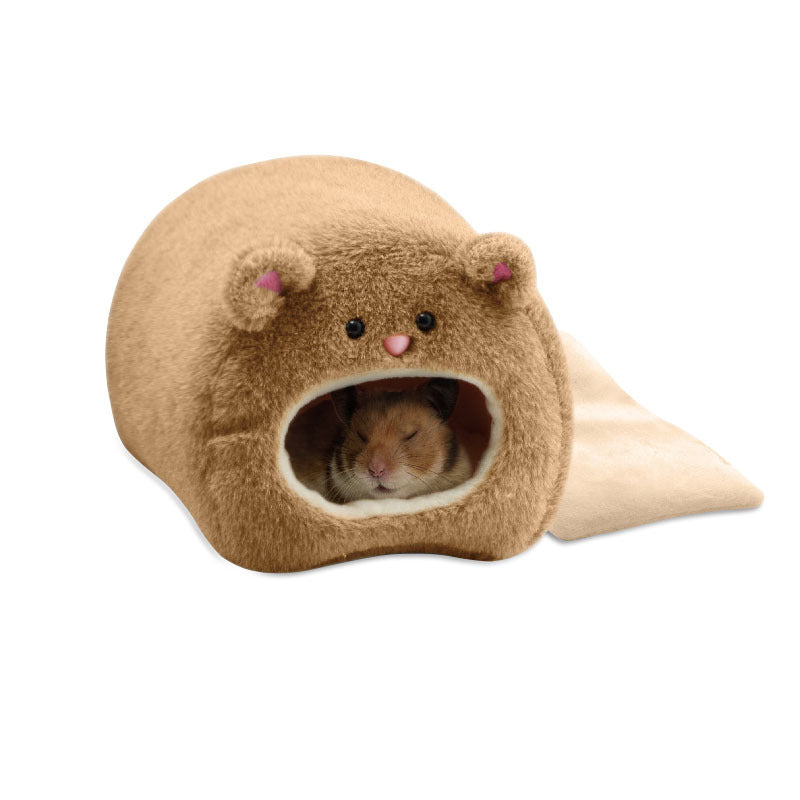 Hamster nest warm bedroom winter supplies cute bears cotton hamsters warm cotton nest activity price bulk
