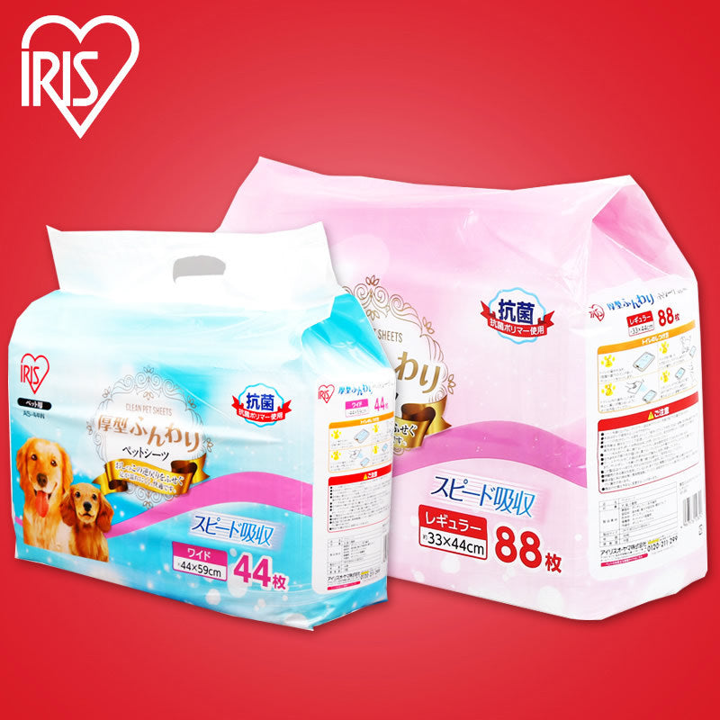 Japan IRIS Alice pet diapers thickening deodorant large Alice dog super thick diaper pad cleaning pad