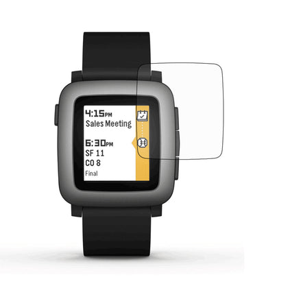 Pebble Time Dedicated Sports Smart Watch Film Surface Soft Film HD Protective Film