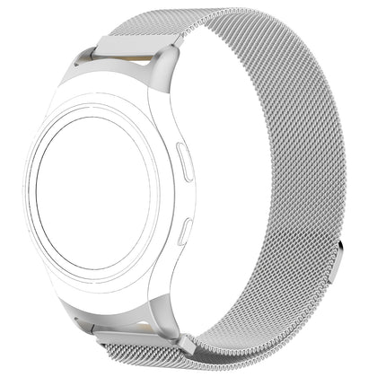 Suitable for Samsung gear s2 R720 stainless steel strap fit2 PRO stainless steel mesh strap loop