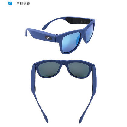 Bone conduction intelligent Bluetooth glasses wireless polarized touch outdoor sports waterproof can be customized ODM / OEM OEM