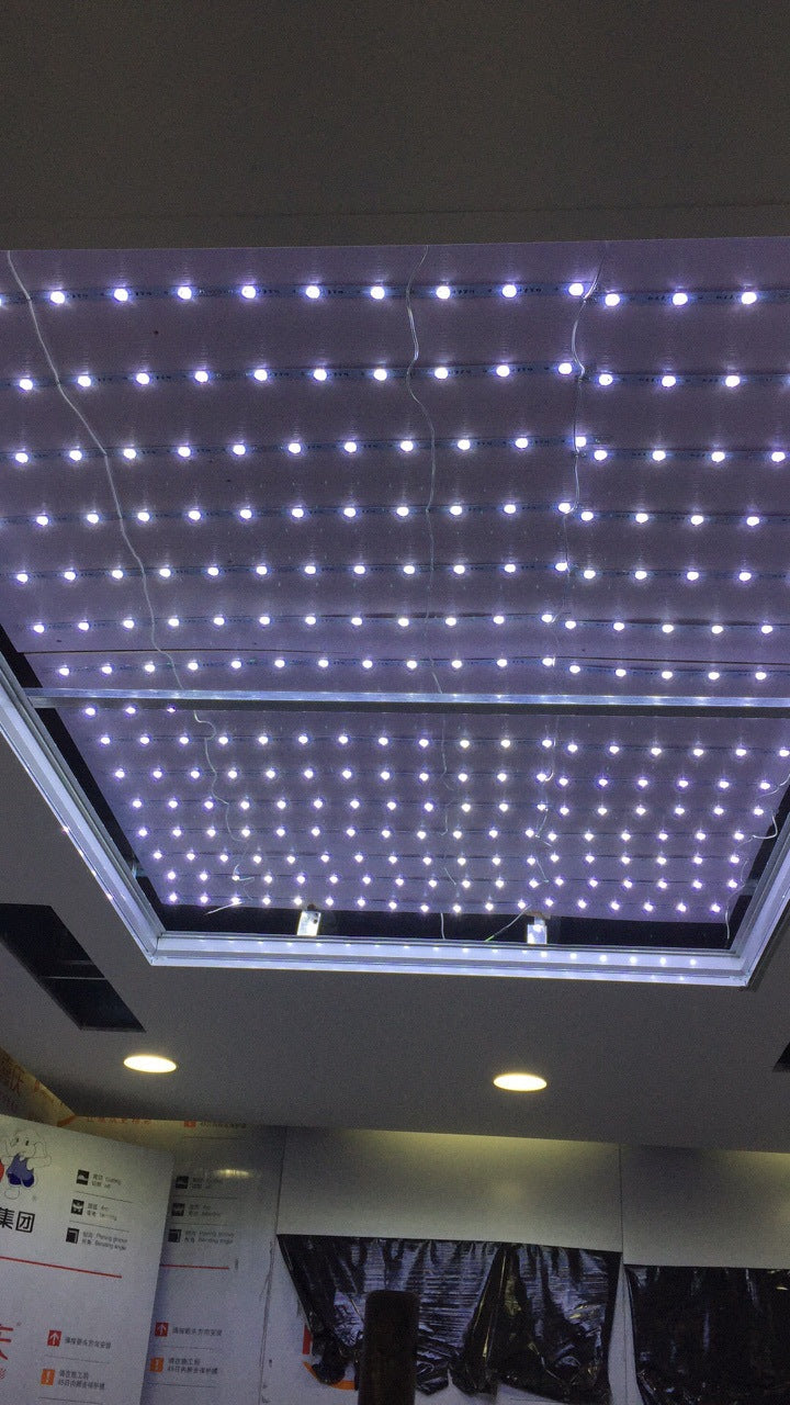 Factory direct soft film ceiling High-end Uv advertising film light box Kabu light box film