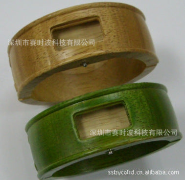 Manufacturers wholesale fashion adult wooden square bracelet watch