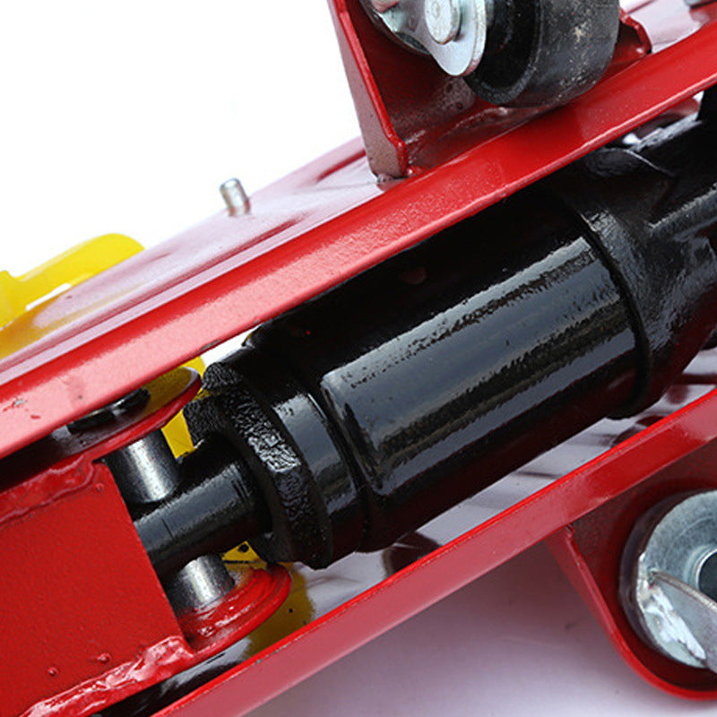 Horizontal jack 2 ton car horizontal hydraulic jack Manual car hydraulic horizontal jack 2t