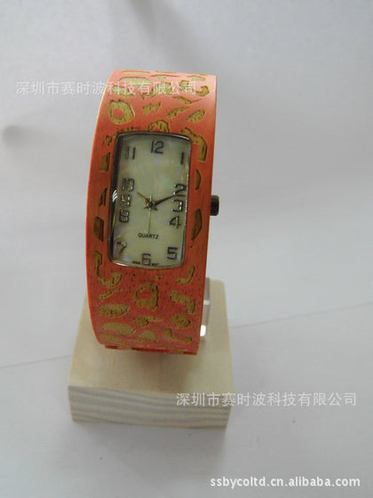Factory wholesale exquisite fashion bamboo wooden children watch
