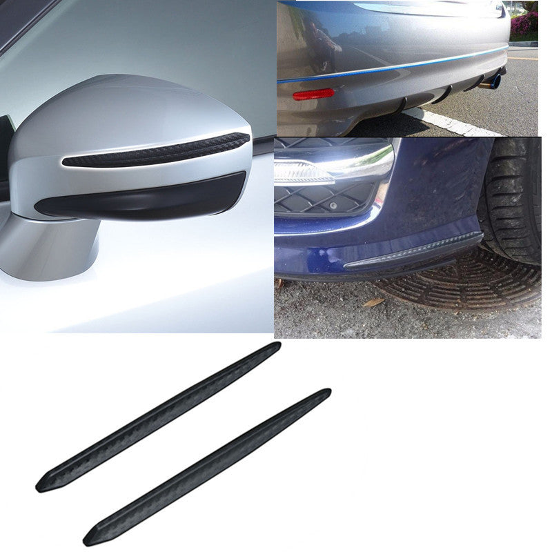 New car front and rear surrounded by bumper rearview mirror anti-collision scratch strip spoiler ebay Amazon wish
