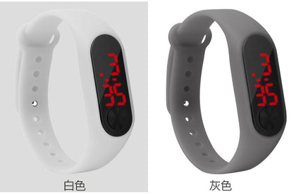 Factory Direct Xiaomi Mi 2 Children's Watch Foreign Trade Cross-Border Explosion-proof Silicone Electronic Watch Sports Fashion Watch