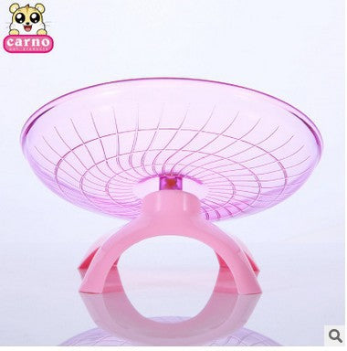 CARNO hamster running wheel flying saucer treadmill hamster toy living supplies 18CM with bracket