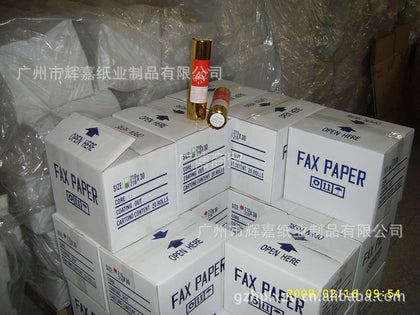 Thermal fax paper manufacturer 210*30 meters thermal fax paper 65 g 70 g 80 g