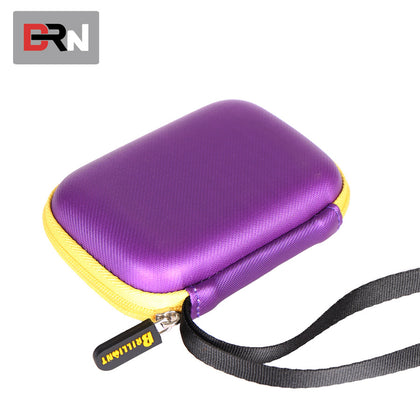 Personality fashion purple EVA camera bag Shockproof anti-pressure waterproof Strength manufacturers can customize logo size