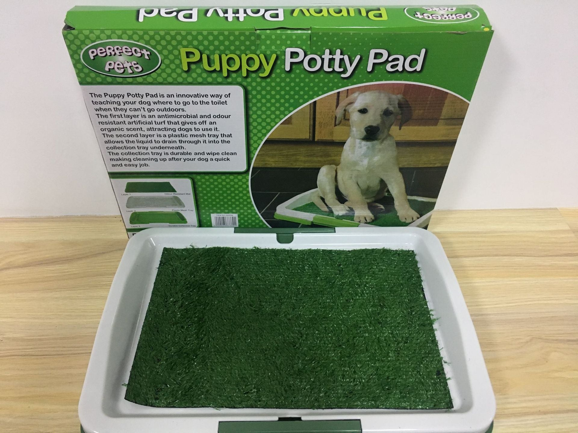 Puppy Potty Pad puppy indoor toilet Three-layer leakproof dog fixed lawn cushion toilet