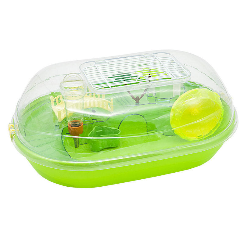 Traveling Portable Pet Cage YDC10 Plastic Hamster Cage Luxury Villa Pet Cage Wholesale