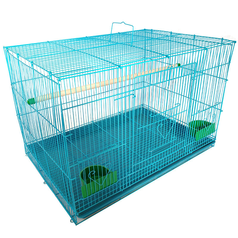 Metal parrot cage Wholesale rabbit cage hamster cage Supply small pet cage One generation