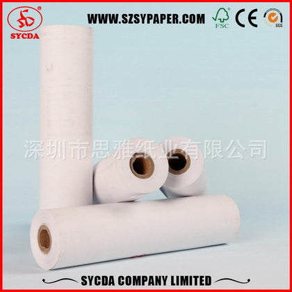 Factory direct thermal fax paper 210*30mm*20 volume office paper fax paper thermal fax paper 210mm