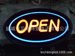 LED signage / LED logo / LED card / LED light card / LED light word / LED door card