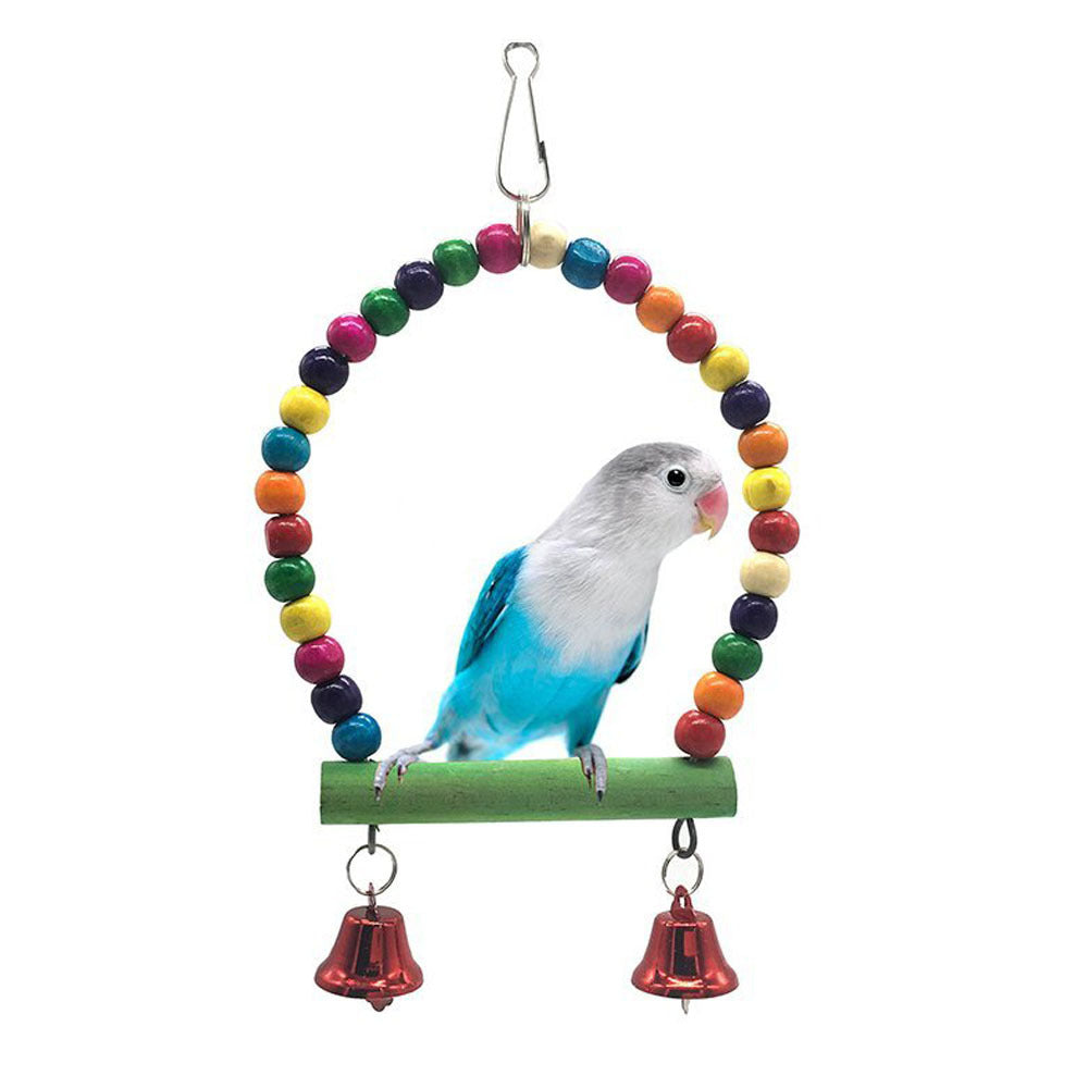 Amazon Explosion Small and Medium Parrot Supplies Parrot Swing Bird Stand Small Pet Supplies