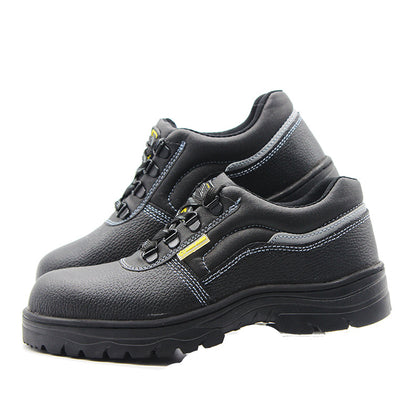 Factory direct labor insurance shoes anti-mite stab penetration gas work shoes electric welder safety protective shoes 369#