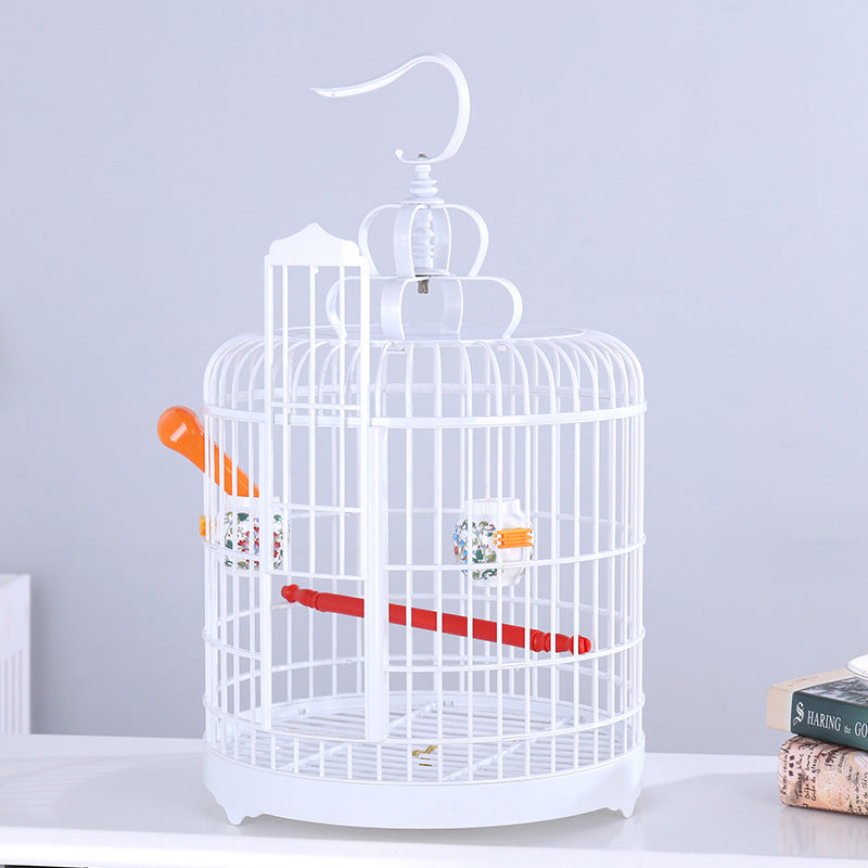 Parrot cage portable pet display cage sparrow supplies bird nest plastic bird cage