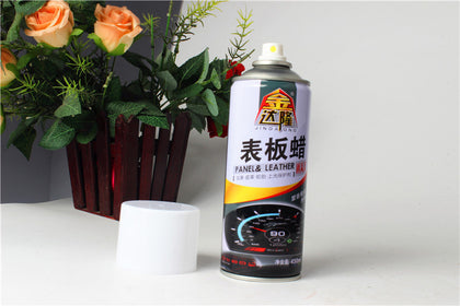 Table wax instrument panel tire glazing protector double shine bright as fresh 450ML white wax