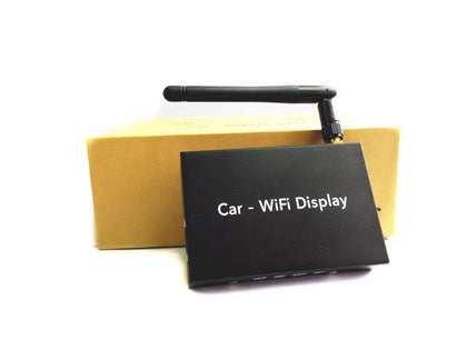 Manufacturer wholesale car phone wireless with screen USB / AV + HDMI dual output car wifi display