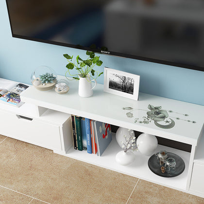 #TV 柜 地 柜 Living room telescopic storage cabinet TV cabinet multi-function @ 视听 柜 specification style product