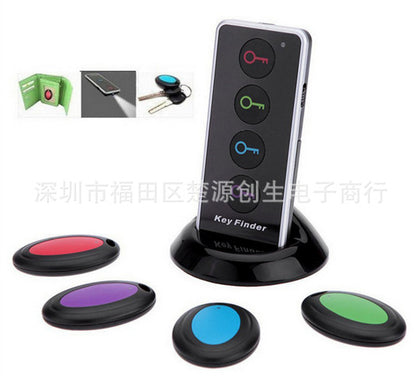 Wireless electronic key finder home anti-lost alarm mobile phone search device fortifier one for four one for four