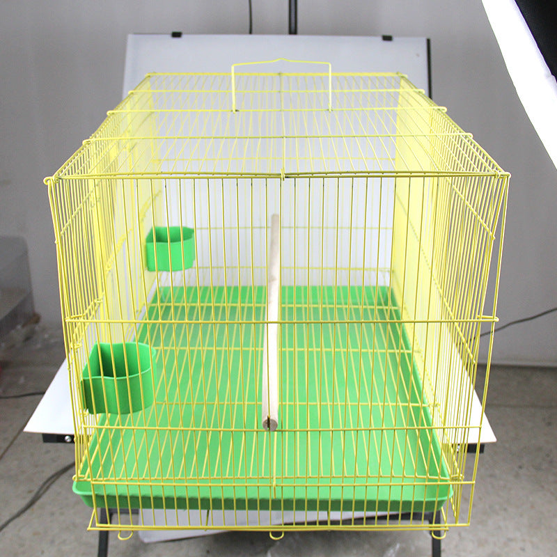 Nobino Pet Rabbit Cage Guinea Pig Cage Squirrel Cage Bird Cage Folding Parrot Cage Whole Group Cage Wholesale