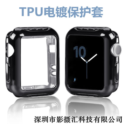 Suitable for Apple Watch Apple Watch with Silicone TPU Protective Case i watch 2/3 Generation Drop Protection Case