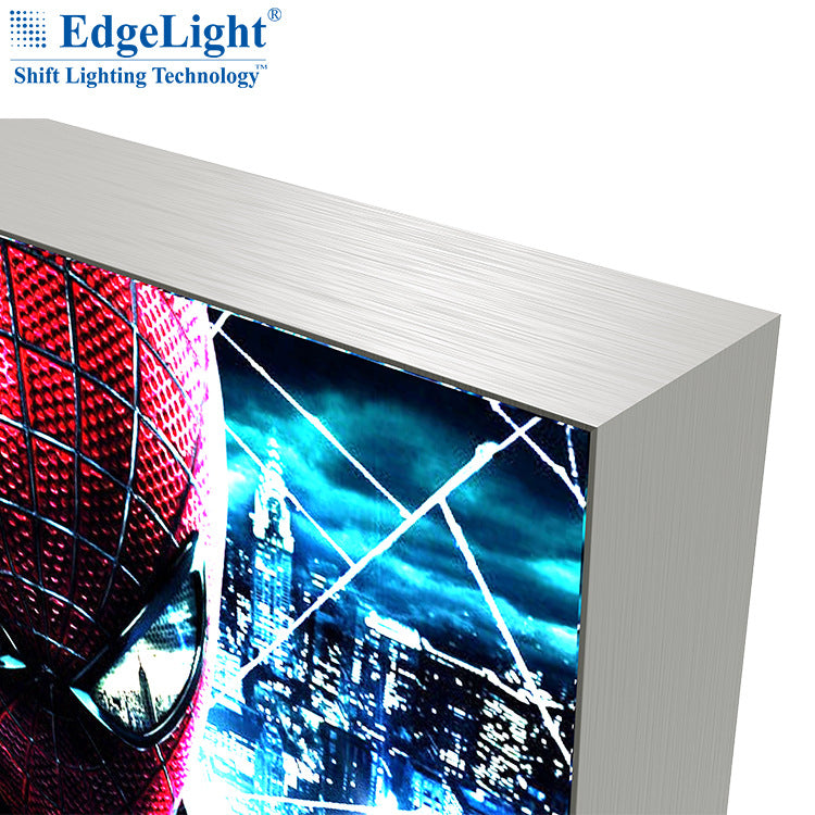 Hot sale recommended AF45A double-sided card light box available backlight and side light source led soft film cloth light box
