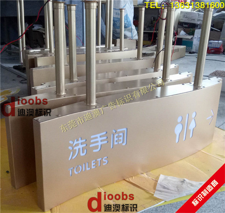 Signage supermarket tag shopping mall light box LED hanging tag hollow light box