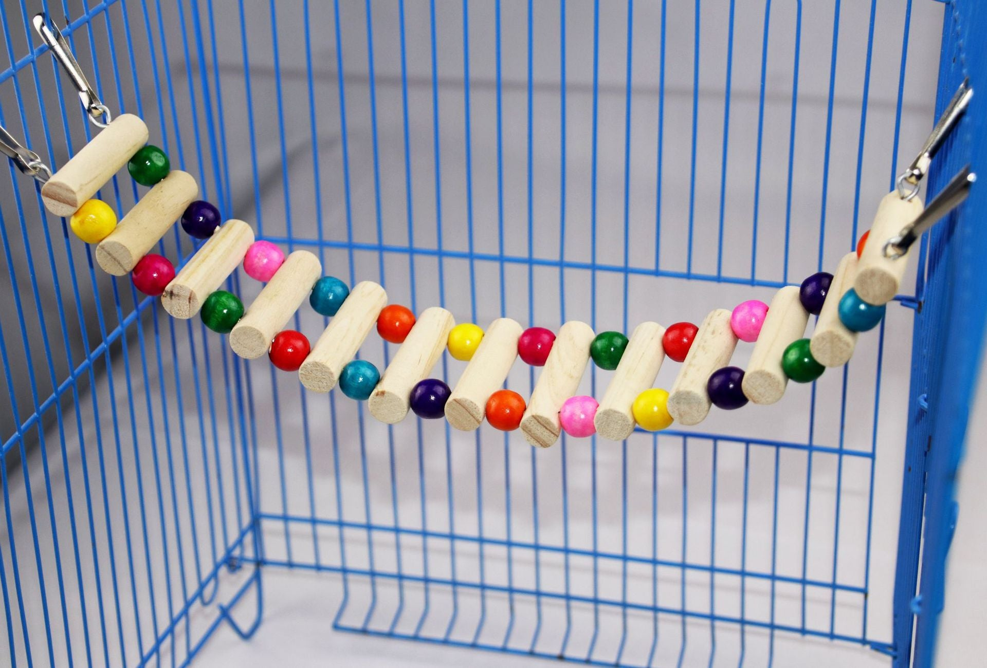 Parrot bird cage toy soft bridge ropeway hamster suspension bridge honey bag squirrel squirrel ladder stairs pet swing