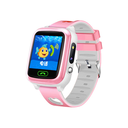 Students wear mobile smart positioning watch children's phone watch Y69 touch screen waterproof children's watch