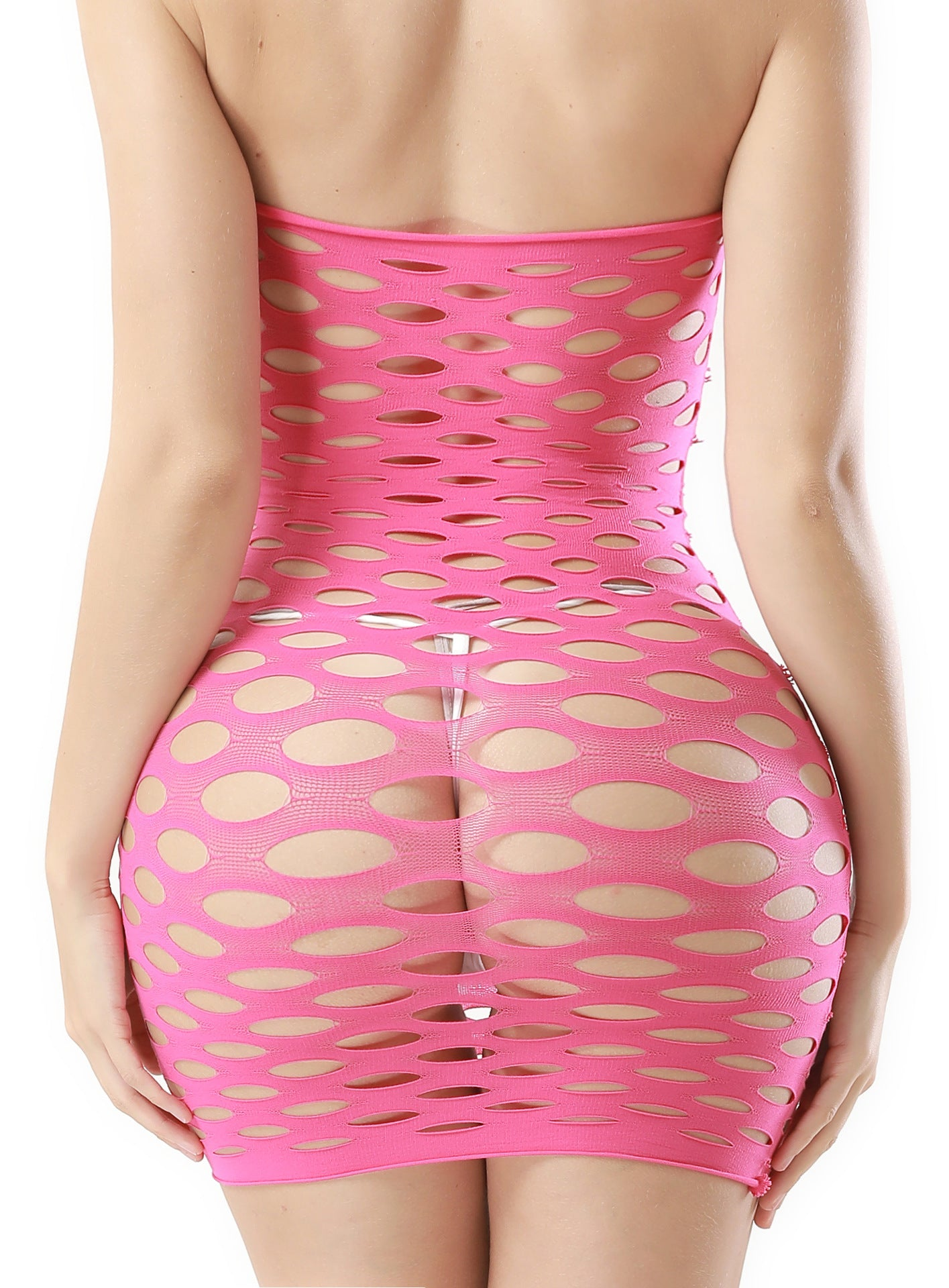 2019isheaby nightclub sexy hole short skirt pajamas factory direct hollow sexy lingerie female 8927