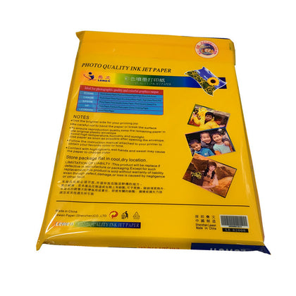 Genuine music A4*128g Color inkjet paper Inkjet paper Color printing paper 100 sheets/package